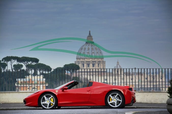 location europe rental king italy exclusive ic a car rome pagespeed ferrari xrome rent services luxury in