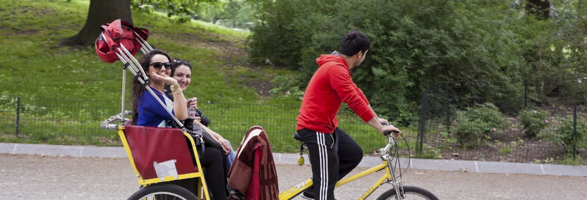 Central Park Pedicab Tour - Unlimited Biking