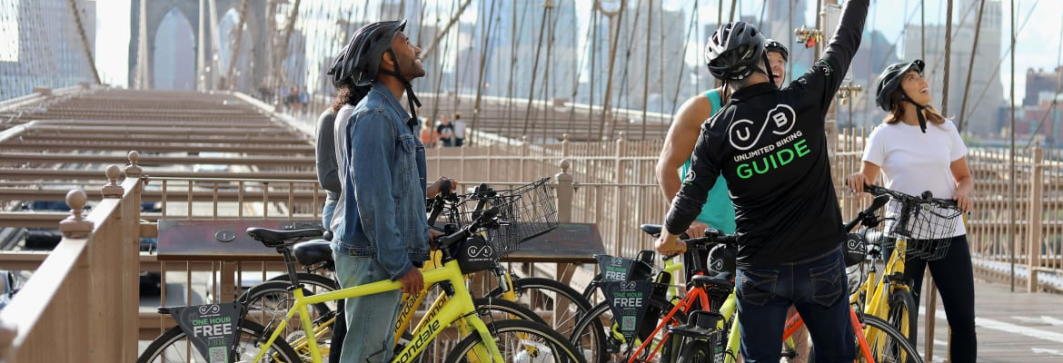NYC Secret Streets Bike Tour - Unlimited Biking