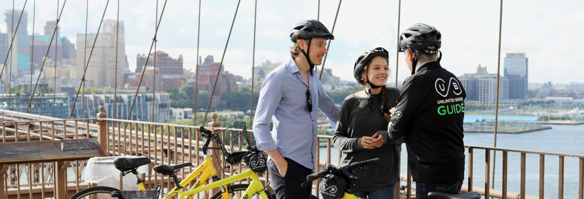 New York City Highlights Bike Tour - Unlimited Biking