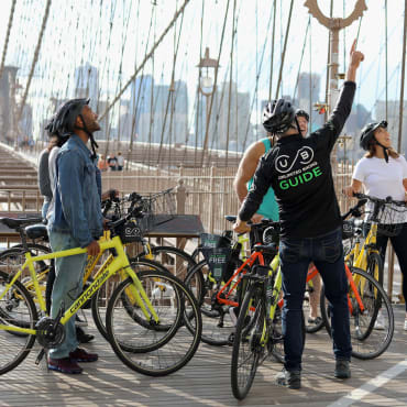 Highlights of Brooklyn Bridge Bike Tour - Unlimited Biking