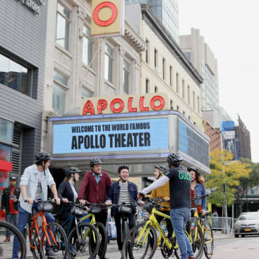 Harlem Highlights Bike Tour Apollo Theatre