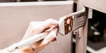 Peindre armoires de cuisine