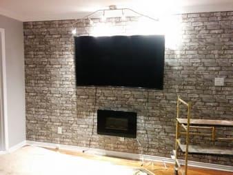 Brick wallpaper - Installation services picture 1