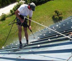 Services de peinture de toiture