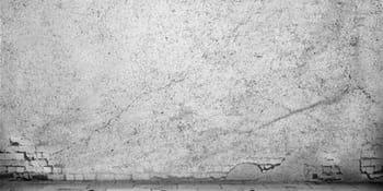 Fissures dans les murs du sous-sol