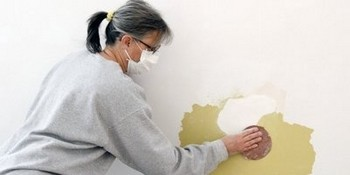 How to repair a hole in the wall