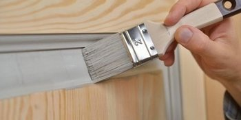Learn to fix or paint a door with ease
