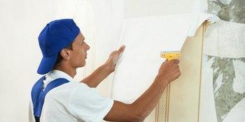 Enlever le vieux papier peint