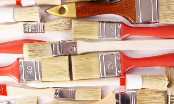 Cleaning paint brushes and accessories