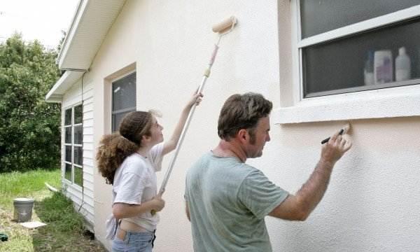 Réparer du stuc