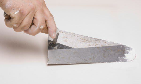 Primer on patching drywall