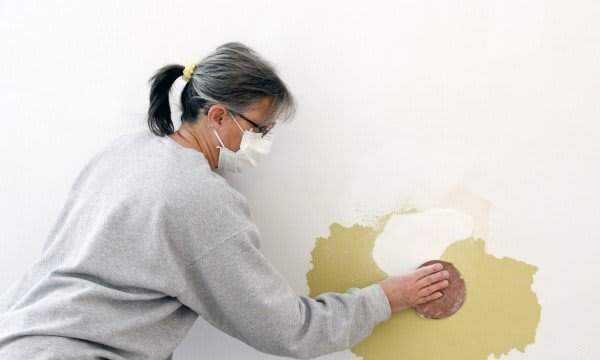 Réparer un trou dans un mur