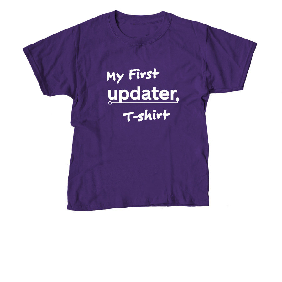 Kids: My First Updater Shirt