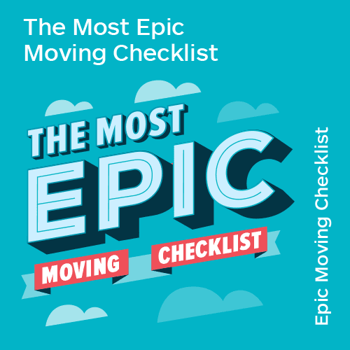 The Most Epic Moving Checklist