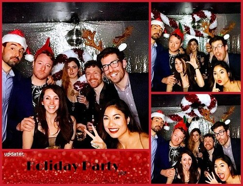 Holiday party photo booth highlights! ✨ Wishing everyone a very happy holiday season ❄️