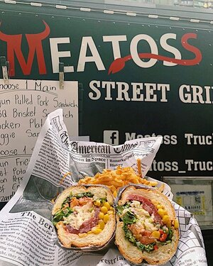 Another Food Truck Friday! A HUGE THANK YOU to Meatos Food Truck for being so wonderful & delicious!