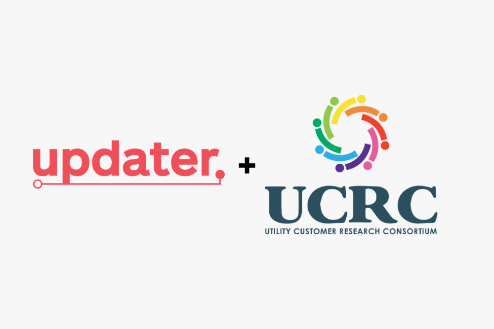 Updater Joins the Utility Customer Research Consortium