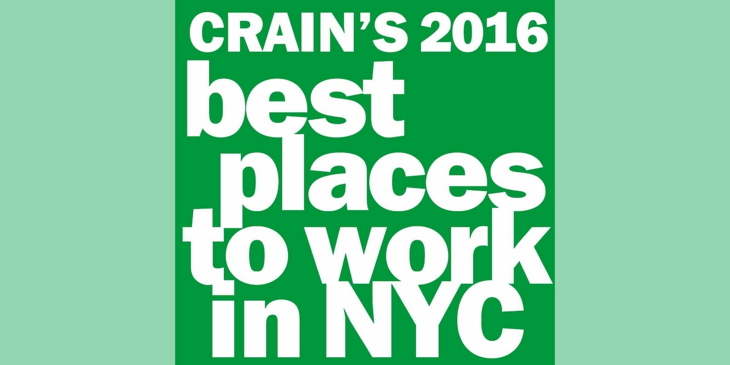 Updater Named One of Crain's Best Places to Work in NYC