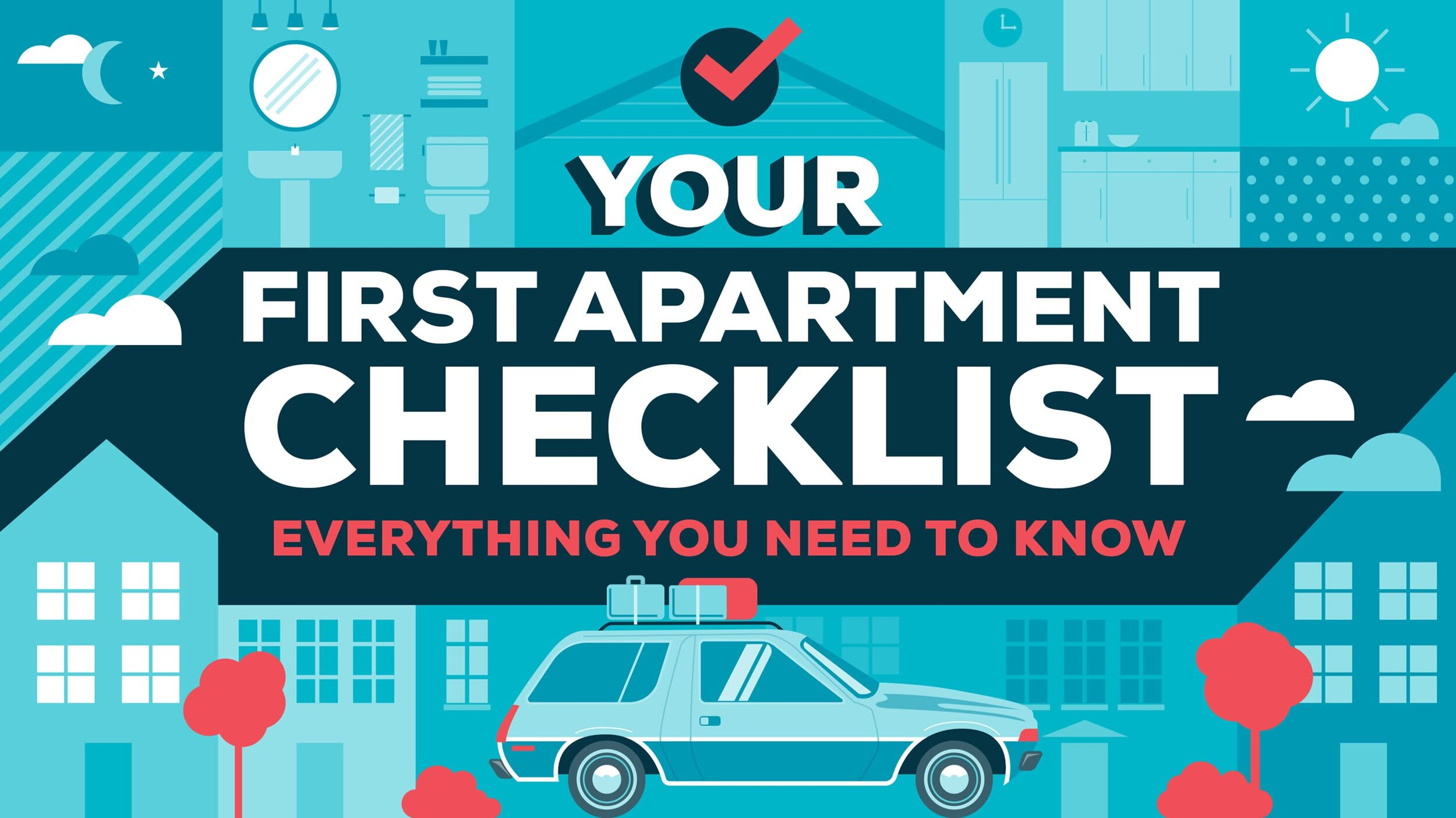 Your First Apartment Checklist — Everything You Need to Buy