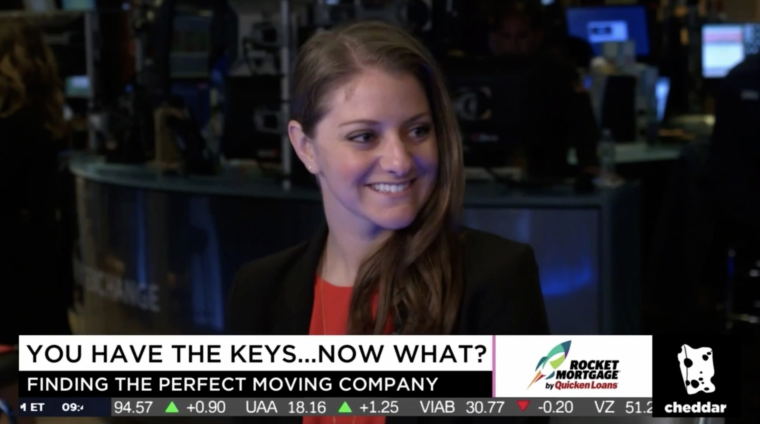 Updater Head of Marketing, Jenna Weinerman, Kicks Off National Moving Month on Cheddar TV