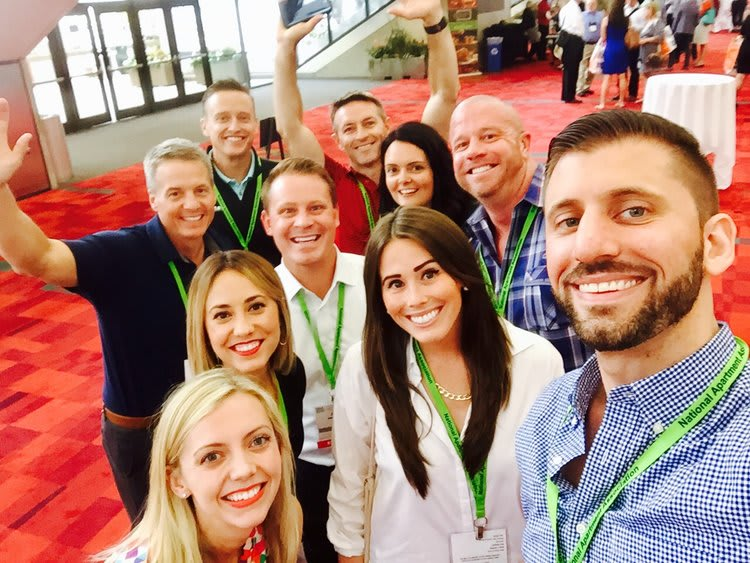 At RealWorld 2017 Property Management Conference