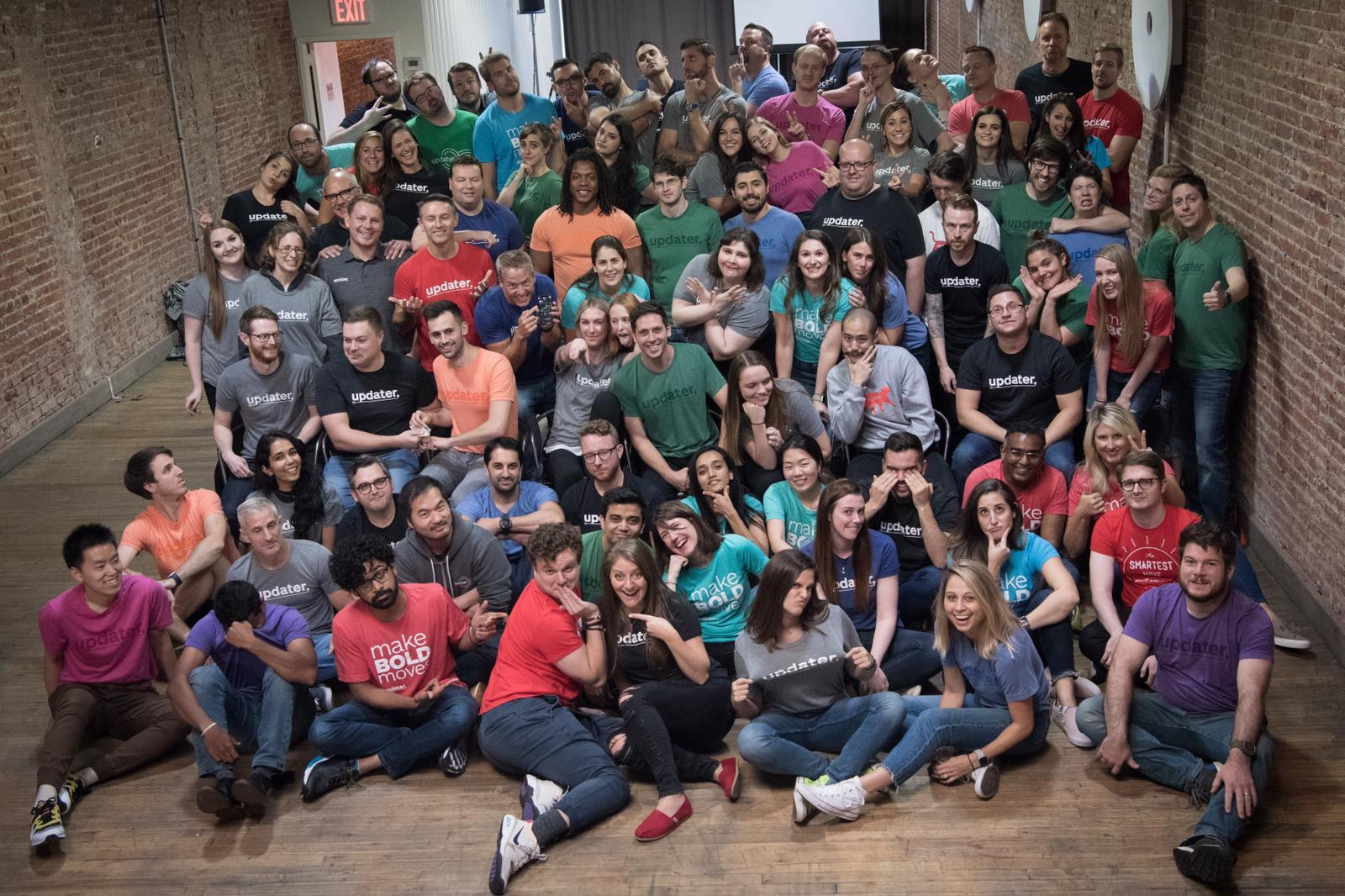 September at Updater: Fighting Hunger, Off-Site Fun, and An Award-Winning Workplace!