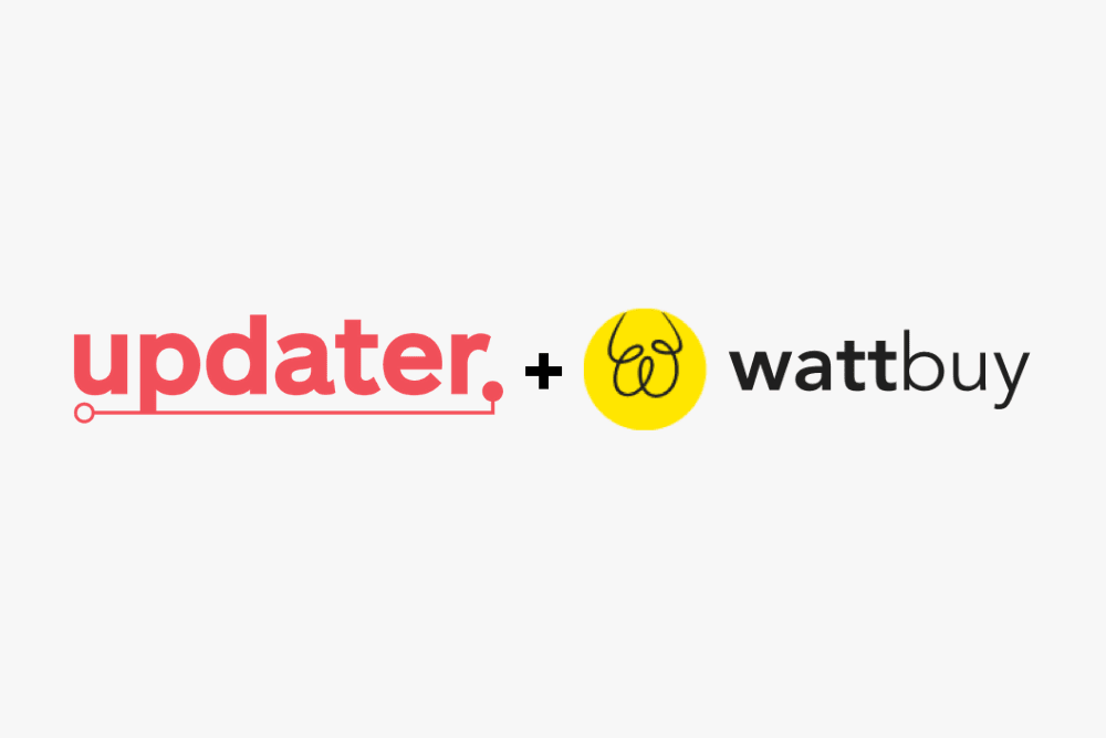Updater Invests in Wattbuy's Series A Fundraise