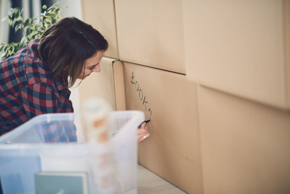 labeling boxes - common moving mistakes