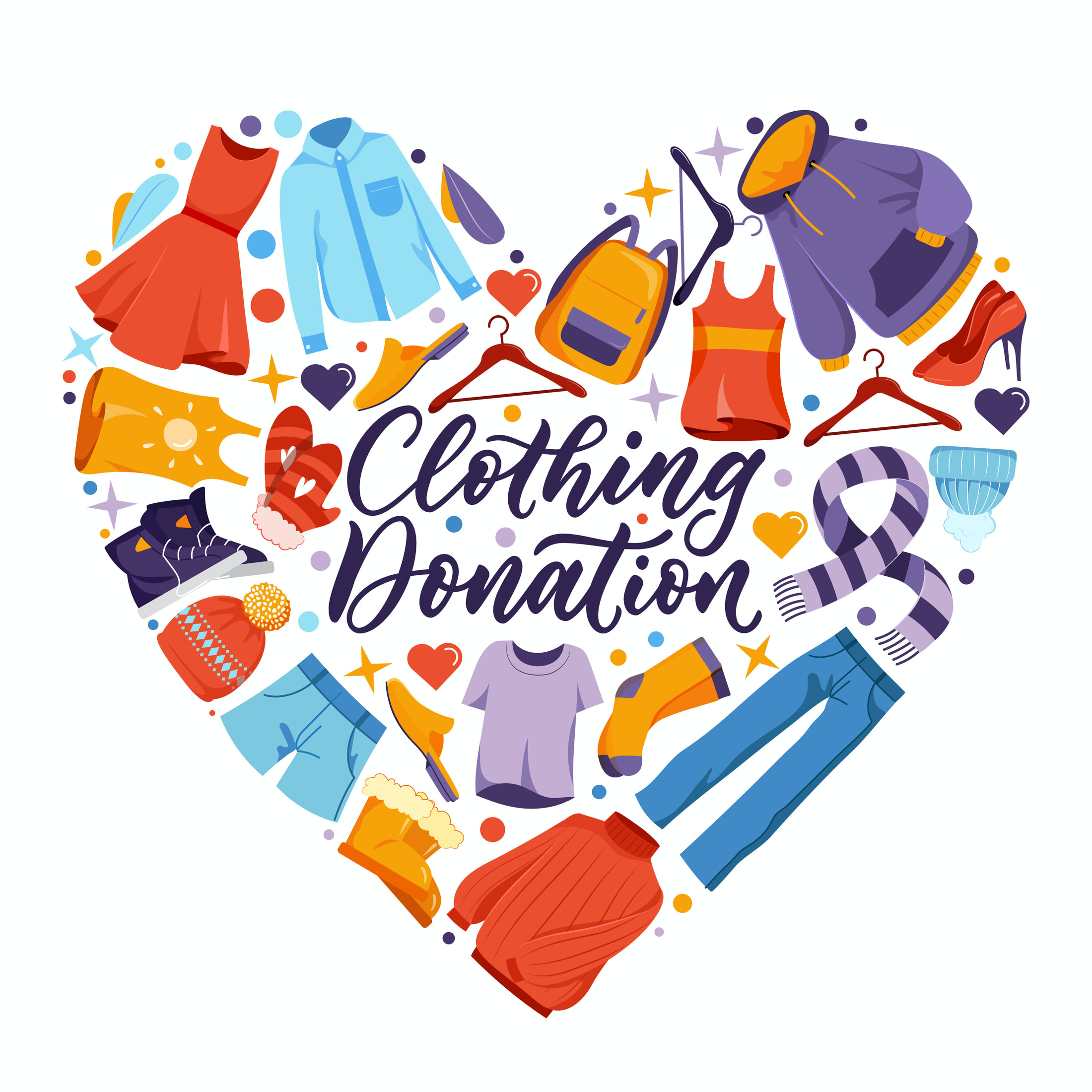 Where to Donate Clothes Before You Move