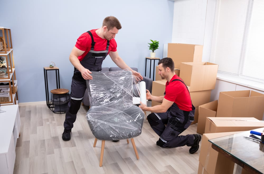 what do movers pack for you