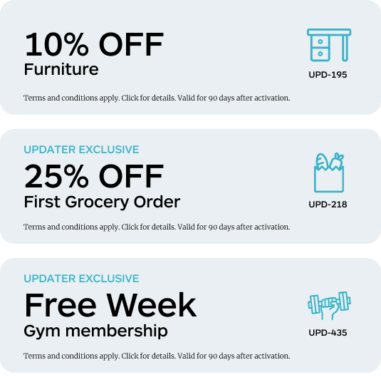 Updater Feature - Coupons