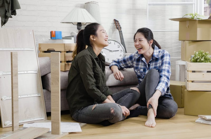 10 Tips for Moving with Roommates
