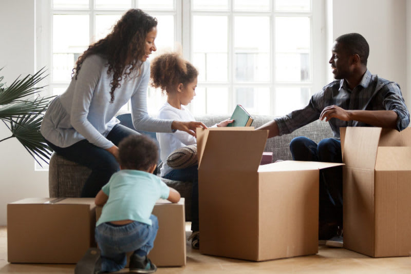 Family packing: how many boxes do  you need