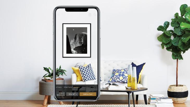 Art.com, image from    TechCrunch