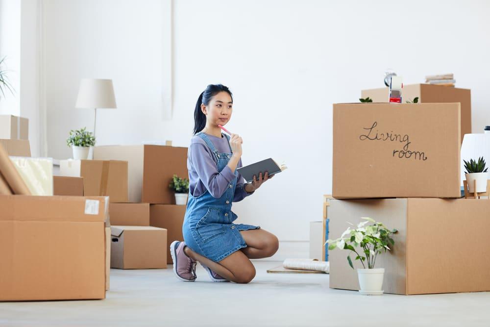 de-stress before a move