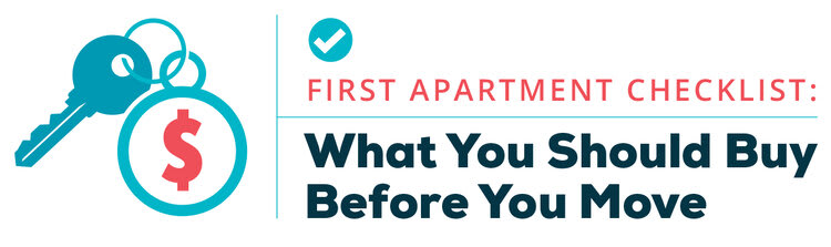 first apartment checklist buy before you move