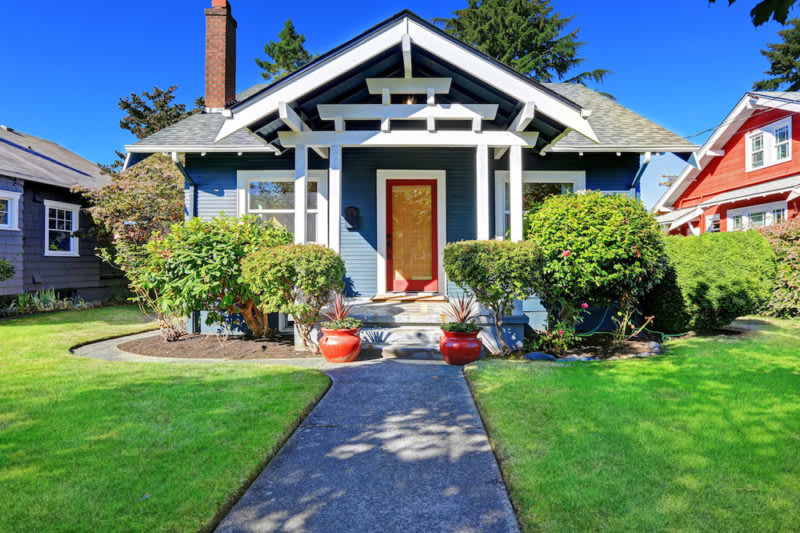 home seller checklist -- curb appeal