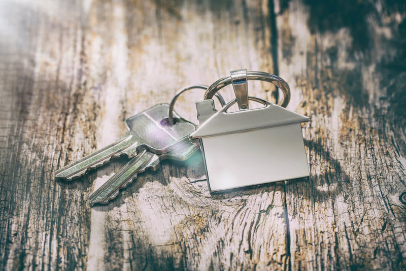 set of house keys - townhouse versus condo