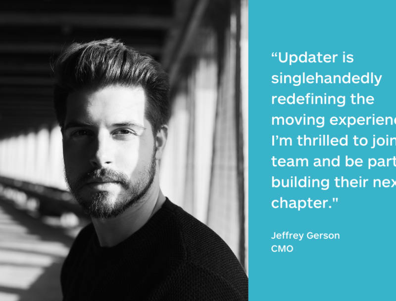 Updater Hires Former Instagram Executive Jeffrey Gerson as Chief Marketing Officer