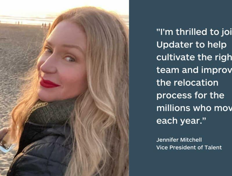 Updater Hires Former Facebook, Postmates Executive Jennifer Mitchell as VP of Talent