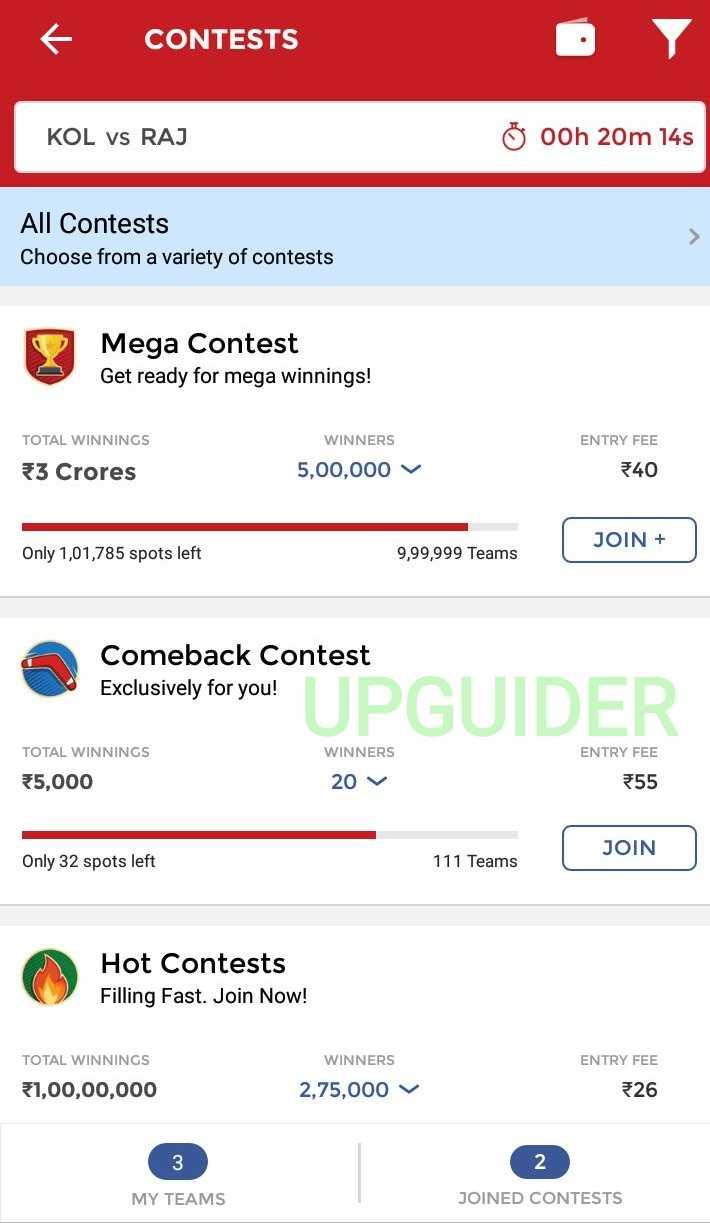 Participate in contests