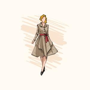 Digital Fashion Illustration -m SQ