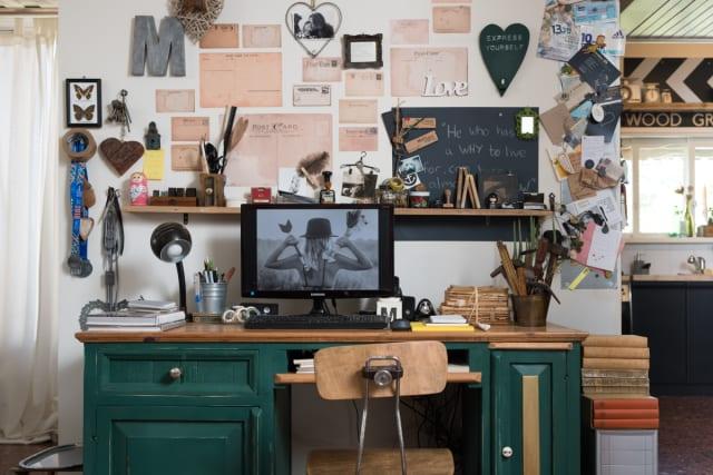Maya Gal's workspace