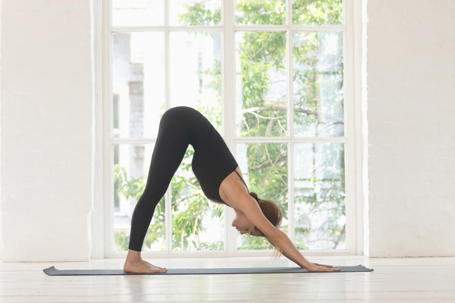 Yoga and full-body stretching are just a couple of ways to fix your posture