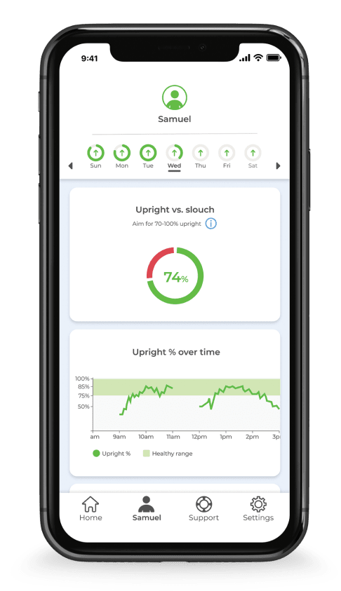 Upright GO2 React native app
