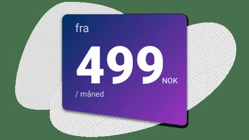 Upsales CRM fleksibel prismodel
