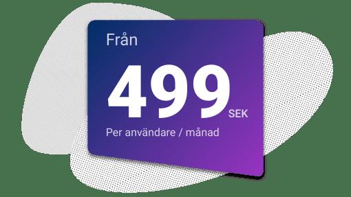 Upsales kostar 499 sek per månad