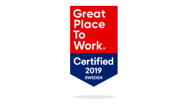 Great Place to Work - Certified 2019