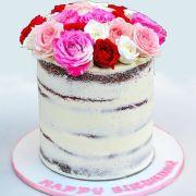 NAKED FLOWERS cake writing fondant | Buy Cakes Dubai